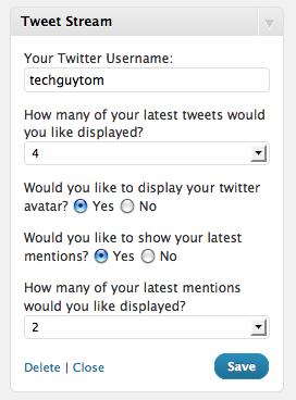 Как вывести последние сообщения из Твиттера | Tweet Stream