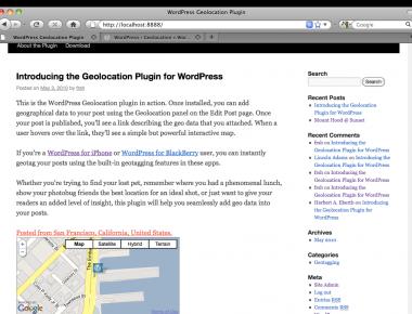 Как показать в посте, где вы находитесь   Geolocation   n-wp.ru