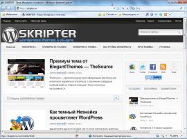 Блог skripter.ru | n-wp.ru