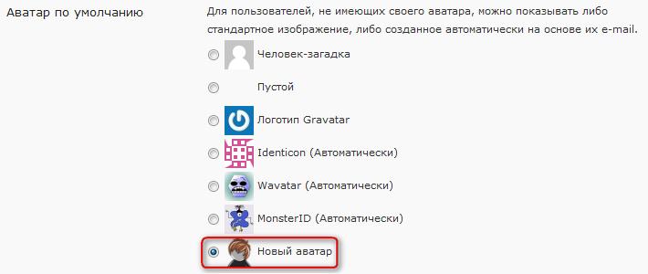 Как изменить аватар по умолчанию | Add New Default Avatar | n-wp.ru