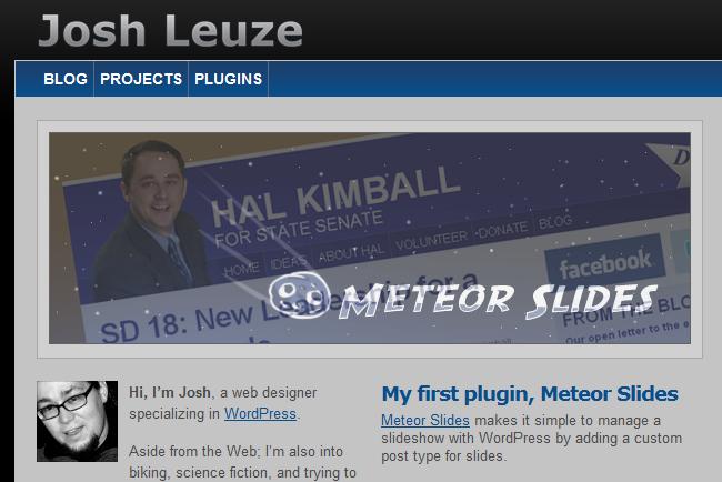 Как сделать очень простой слайдер | Meteor Slides | n-wp.ru