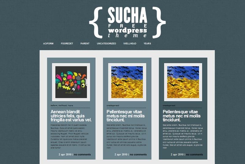 Sucha - очень симпатичная, аккуратная тема | n-wp.ru