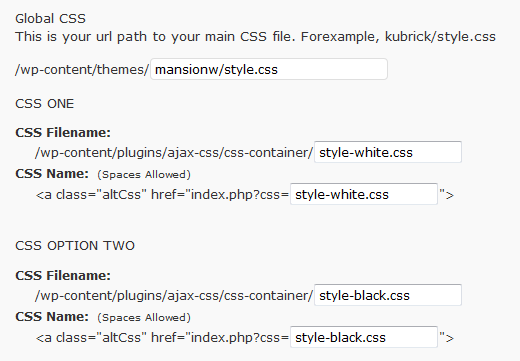 Как сделать блог с двумя стилями оформления | AJAX CSS Switcher | n-wp.ru