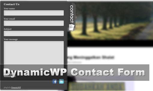 Как добавить красивую контактную форму | DynamicWP Contact Form | n-wp.ru