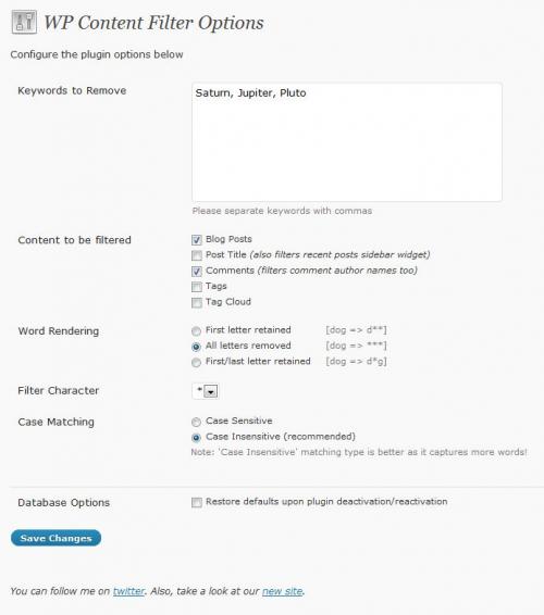Как фильтровать базар в комментариях | WP Content Filter | n-wp.ru