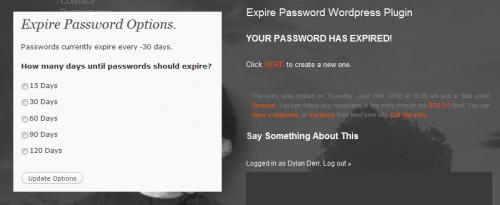 Как периодически менять пароль | Expire Password | n-wp.ru