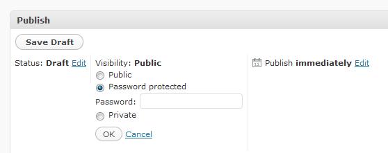 Как установить единый пароль на все запароленные посты | Global Post Password | n-wp.ru