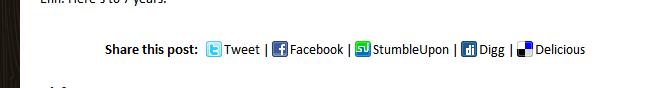 Как отправить пост в Twitter, Facebook и социальные закладки | Simple Social Sharing | n-wp.ru