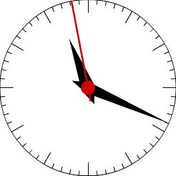 ZYX Classical Circular Clock - аналоговые часы для вашего блога | n-wp.ru