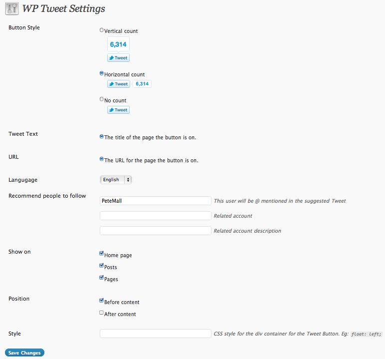 Как сделать кнопку подписки на Твиттер со счетчиком фолловеров | WP Tweet