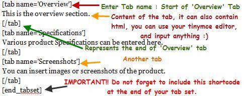 Как сделать табы в посте | WordPress Post Tabs