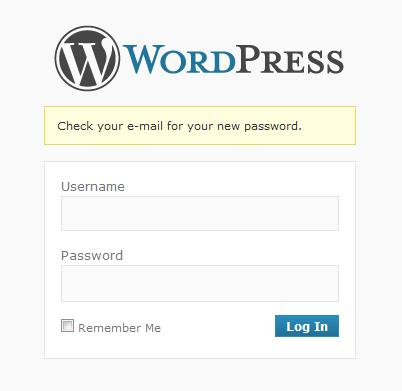Основы работы с Wordpress | Восстановление пароля | n-wp.ru