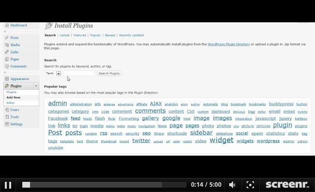 Основы работы с Wordpress | Установка плагинов | n-wp.ru
