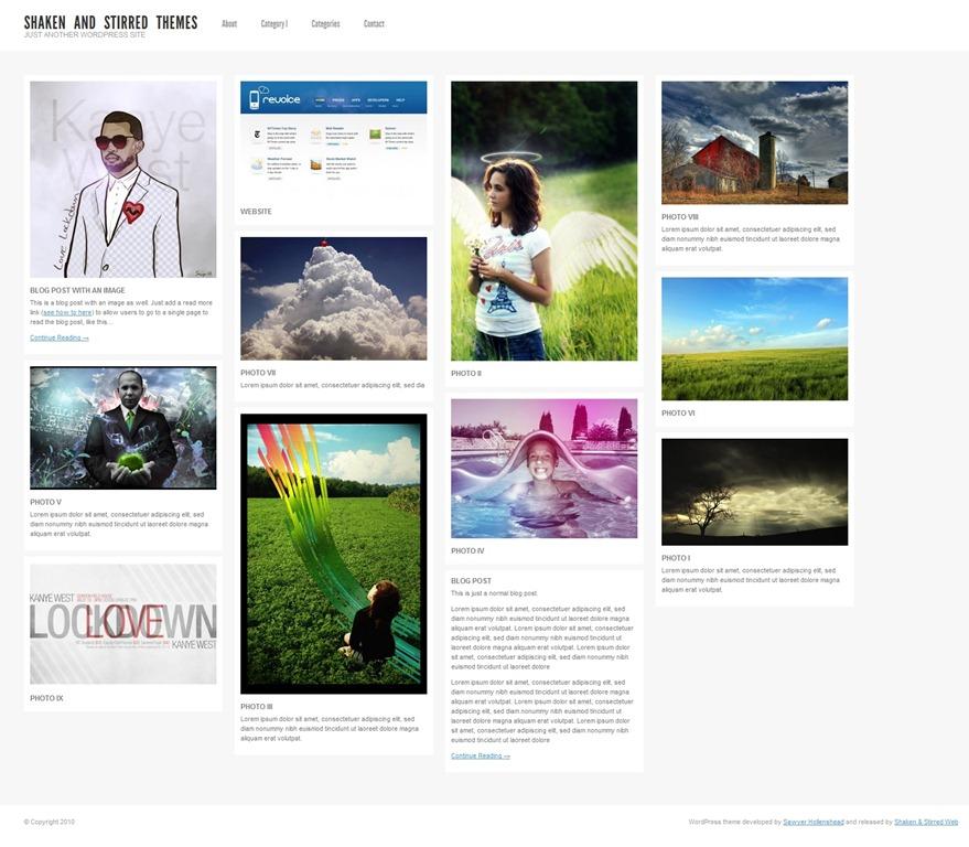 Shaken Grid 2.0 – интересная, красивая и качественная тема для портфолио и фото-блога | n-wp.ru