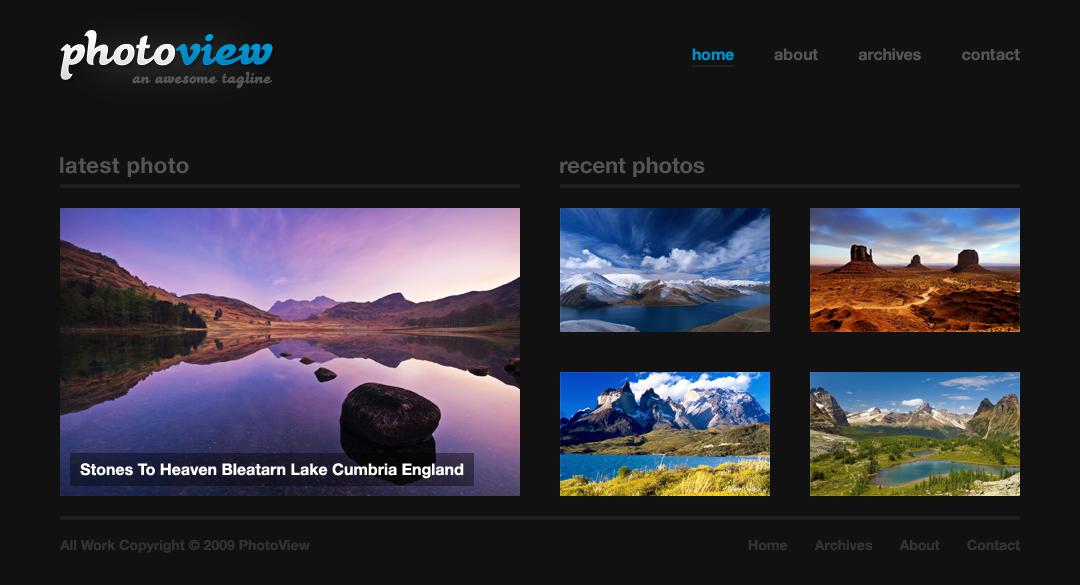 7 великолепных беcплатных тем для фотоблога | n-wp.ru
