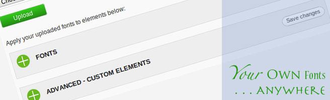 Как использовать свои шрифты для оформления блога | WordPress Font Uploader | n-wp.ru