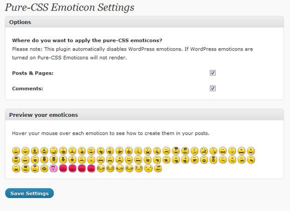 Как добавить красивые смайлики в блог   Pure-CSS Emoticons