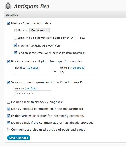Защита комментариев от спама: наиболее эффективные методы защиты от автоматического спама - плагин Antispam Bee