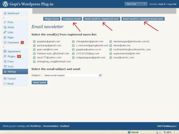 Как оповещать зарегистрированных пользователей по электронной почте | Email newsletter | n-wp.ru