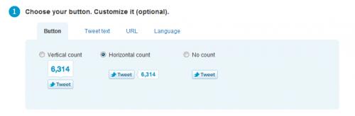 Как добавить официальную кнопку Tweet Button без плагинов | n-wp.ru