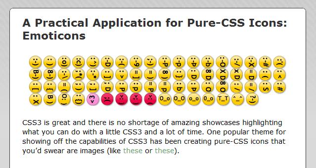 Как добавить красивые смайлики в блог | Pure-CSS Emoticons | n-wp.ru