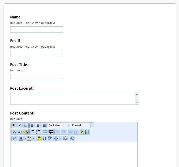 Как разрешить пользователям самостоятельно публиковать посты | uCan Post | n-wp.ru