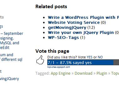 Как проголосовать за пост   WP Topvotes   n-wp.ru