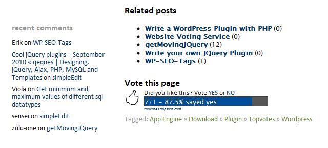 Как проголосовать за пост | WP Topvotes | n-wp.ru
