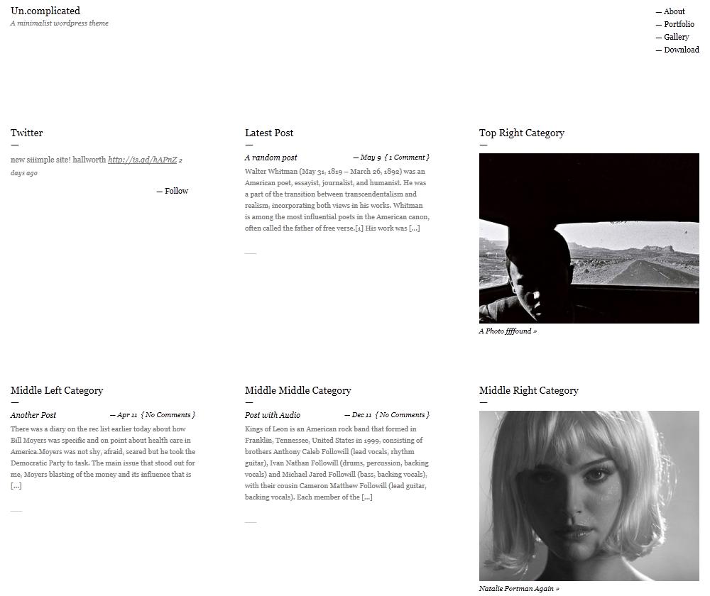 Три светлые минималистичные темы для WordPress