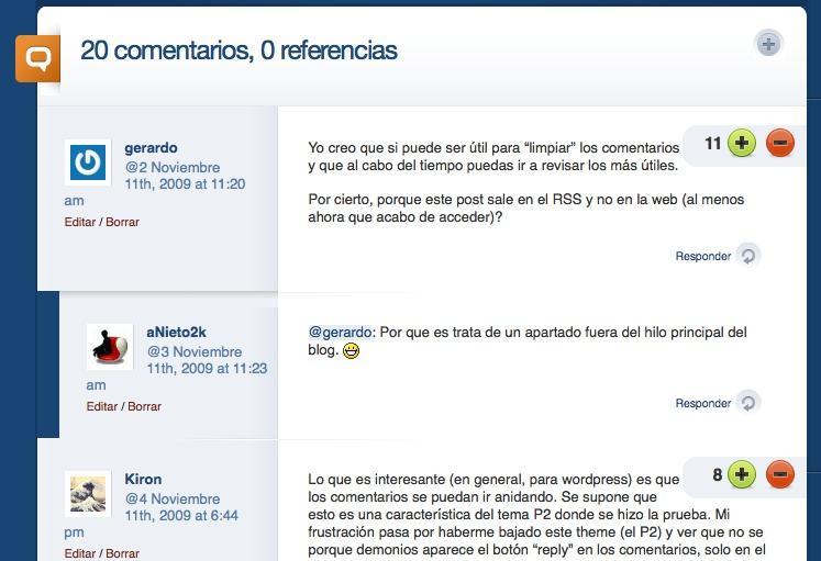 Как добавить рейтинг комментариям и снабдить комментаторов кармой | WP Answers | n-wp.ru