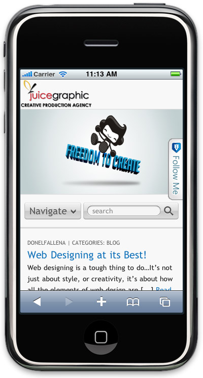 WPmob Lite - мобильная версия вашего блога | n-wp.ru