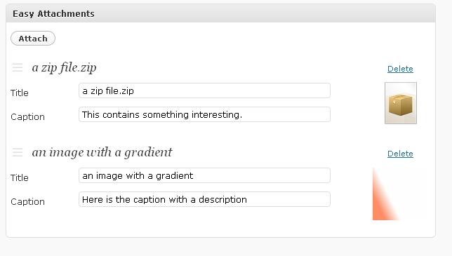Как присоединить к посту любой файл | Easy Attachments