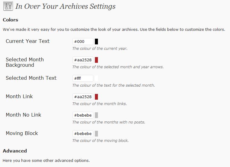 Как сделать архив постов с анонсами и миниатюрами изображений   In Over Your Archives