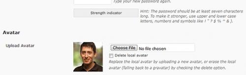 Как пользователям установить собственный аватар | Simple Local Avatars | n-wp.ru
