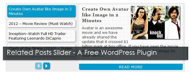 Как сделать слайдер с похожими постами   Related Posts Slider