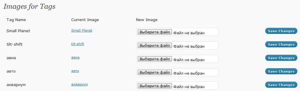 Как вместо тегов использовать изображения | Tag Images | n-wp.ru