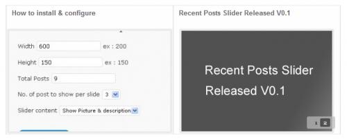 Как вывести в слайдере последние посты | Recent Posts Slider | n-wp.ru