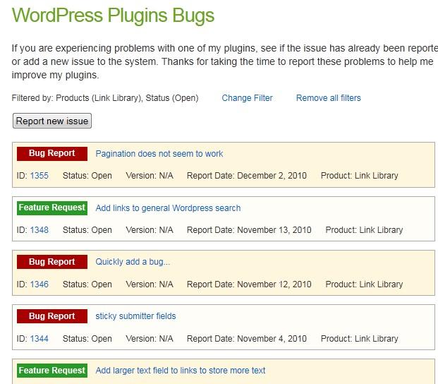 Как пользователям отправлять сообщения о найденных ошибках | Bug Library | n-wp.ru