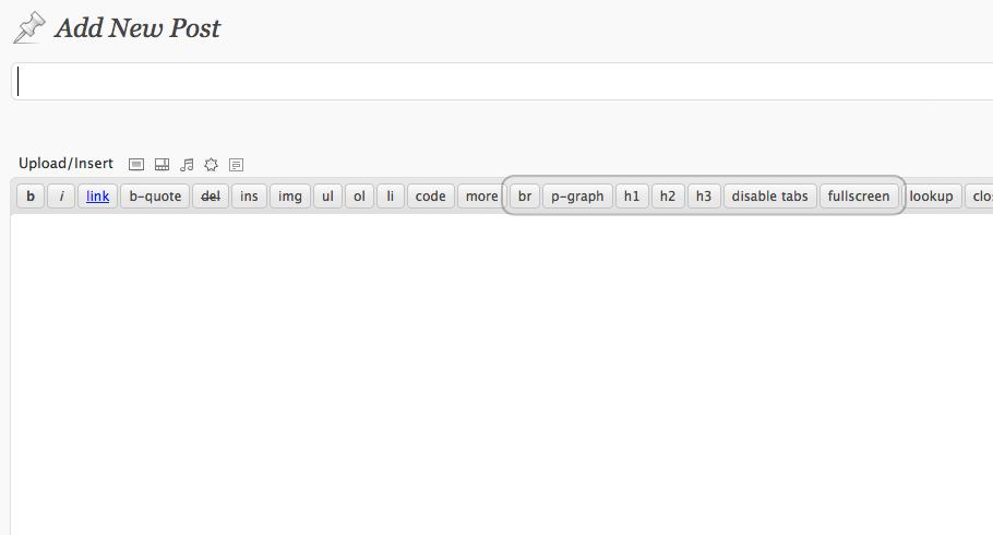 Как добавить дополнительные кнопки в редактор HTML | HTML Editor | n-wp.ru