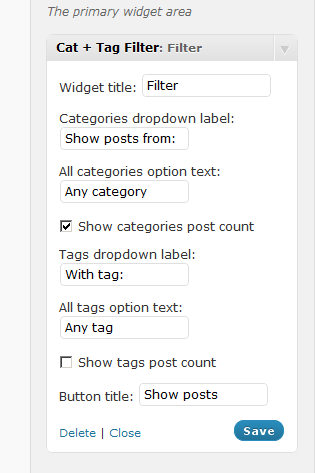 Как выбрать записи в определенным тегом и в определенной категории | Cat + Tag Filter