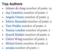 Несколько плагинов для вывода авторов блога | n-wp.ru