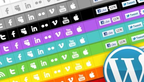 Как сделать социальный тулбар | WP Social Toolbar | n-wp.ru