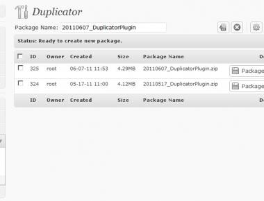 Как перенести блог | Duplicator | n-wp.ru