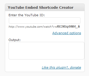 Как вставить видео из YouTube с помощью шорткода   YouTube White Label Shortcode   n-wp.ru