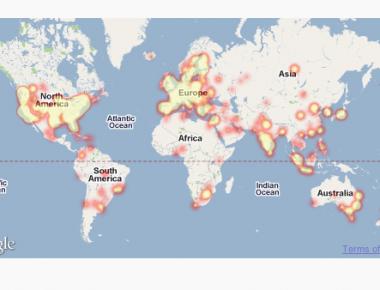 Как показать на карте, откуда пришли пользователи   PulseMaps Visitor Map Plugin   n-wp.ru
