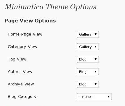 Minimatica - светлая минималистичная тема