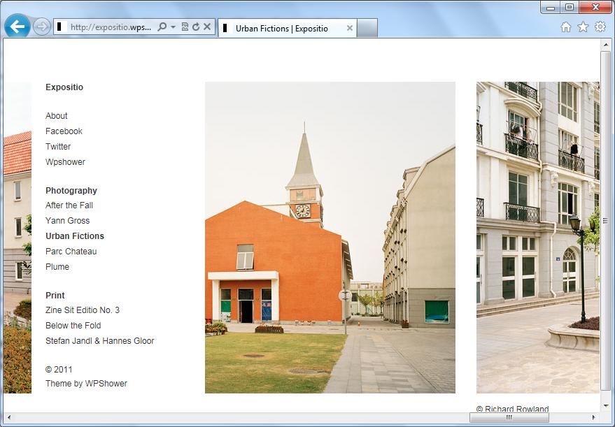 Expositio - минималистичная светлая тема для портфолио | n-wp.ru
