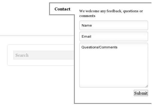 Как добавить в блог раскрывающуюся контактную форму | Slick Contact Forms | n-wp.ru