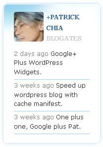 Как показать вашу последнюю активность в Google+ | Google+ Plus WordPress | n-wp.ru