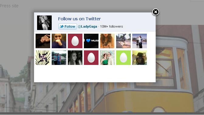 Как сделать красивую подписку на Твиттер | Twitter Like Box Lightbox
